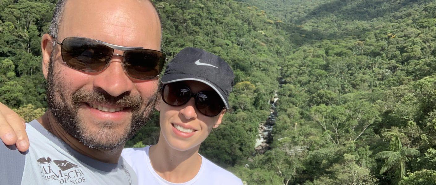 Parque Nacional de Itatiaia parte baixa - mirante do ultimo adeus