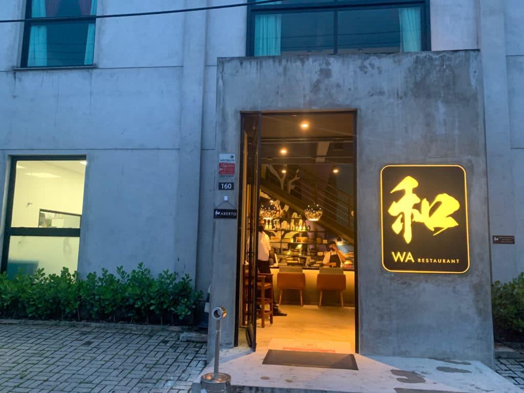 Wa restaurant - parte externa
