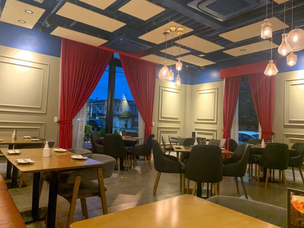 Wa restaurant - Salão interno