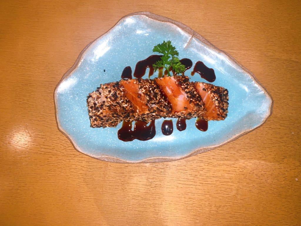 wa restaurant - salmao semi grelhado
