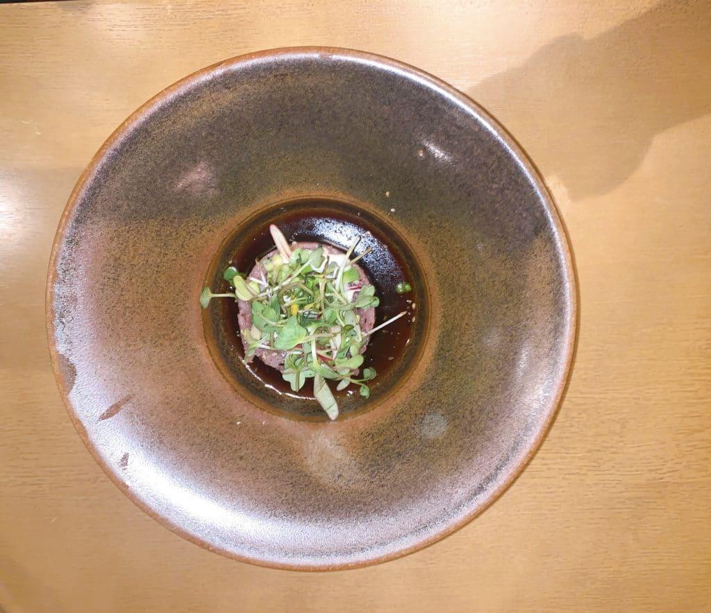 wa restaurant - tartar de atum