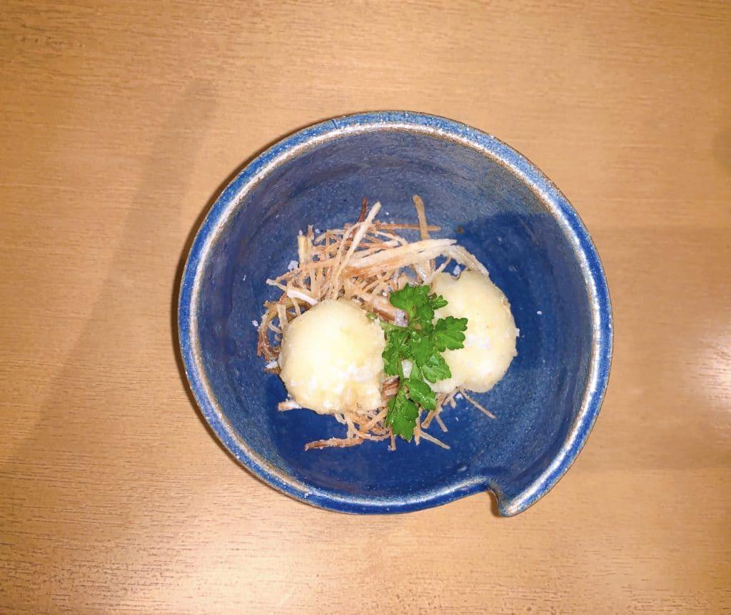 tempura de ovo de cordorna adoramos