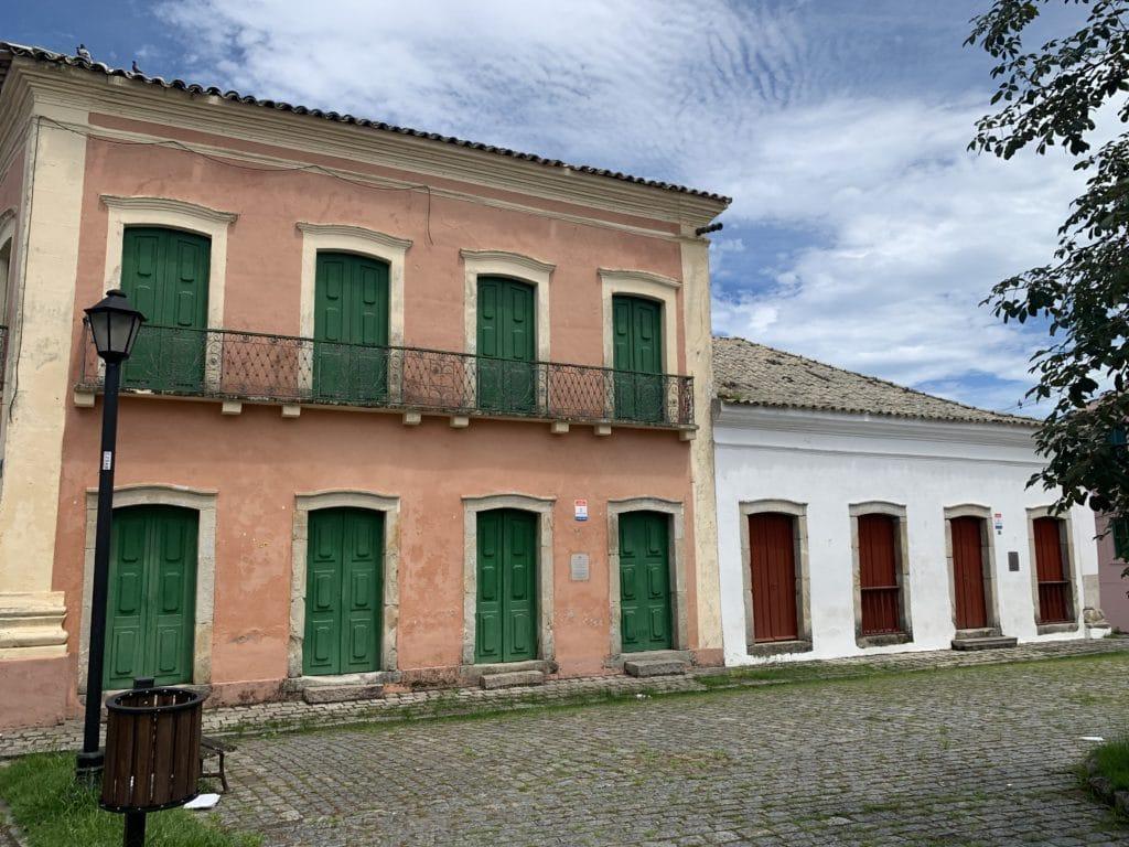 Casa da Cultura Monsenhor Celso e Sobrado da Matriz Casa Brasilio Itibere em paranagua