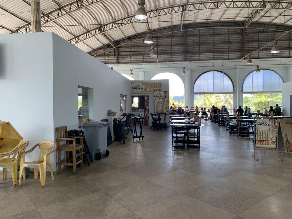 Restaurantes do Mercado Municipal de Paranaguá
