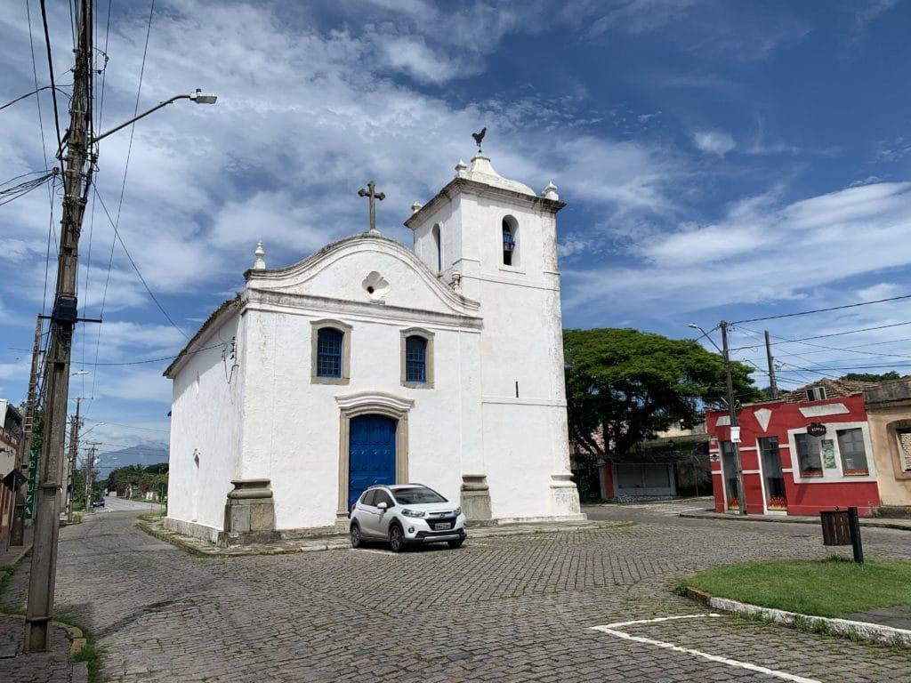 Igreja da Ordem de São Benedito proxima a de Nossa Senhora do Rosário