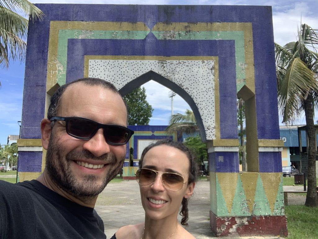 paranagua praça dos povos árabes