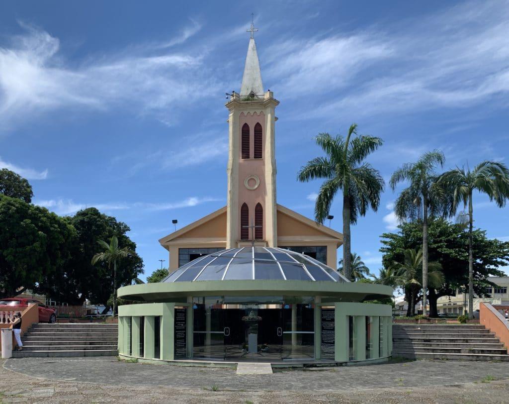 Santuário de Nossa Senhora do Rocio o local é lindo