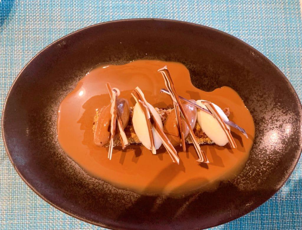 Tudo chocolate sobremesa deliciosa