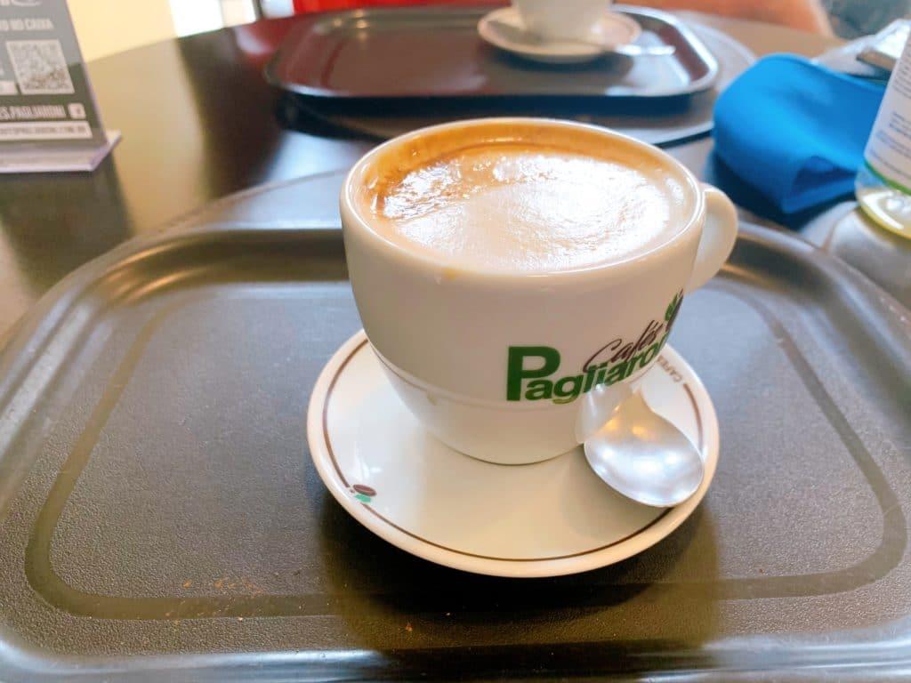 Capuccino do Café Pagliaroni