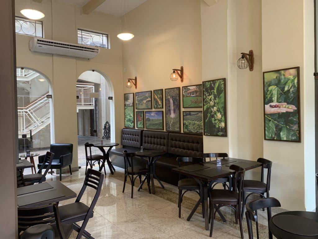 Café Pagliaroni o salão