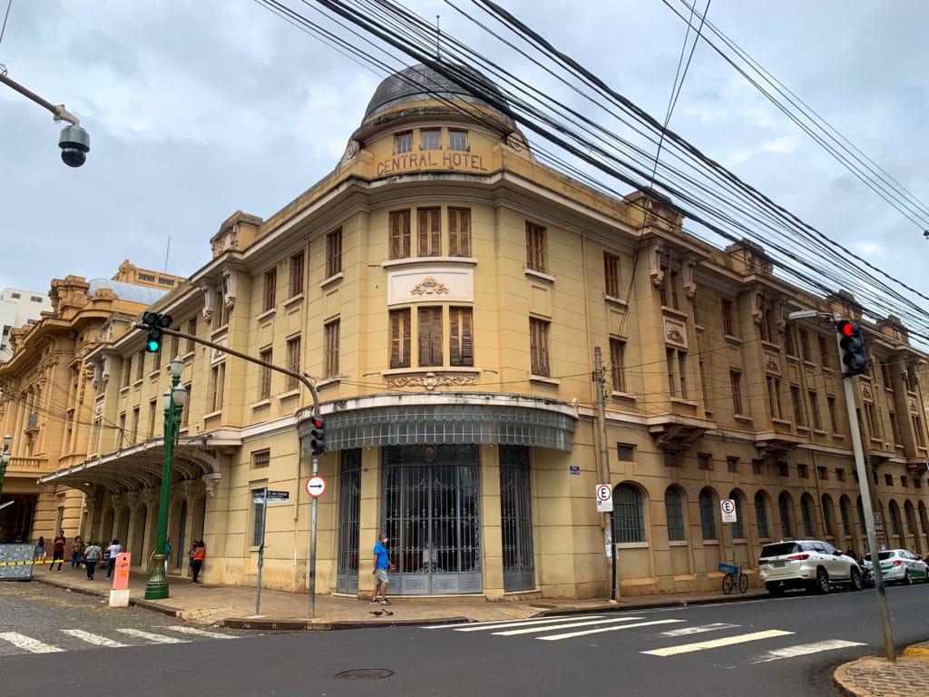 Central Hotel em Ribeirão Preto