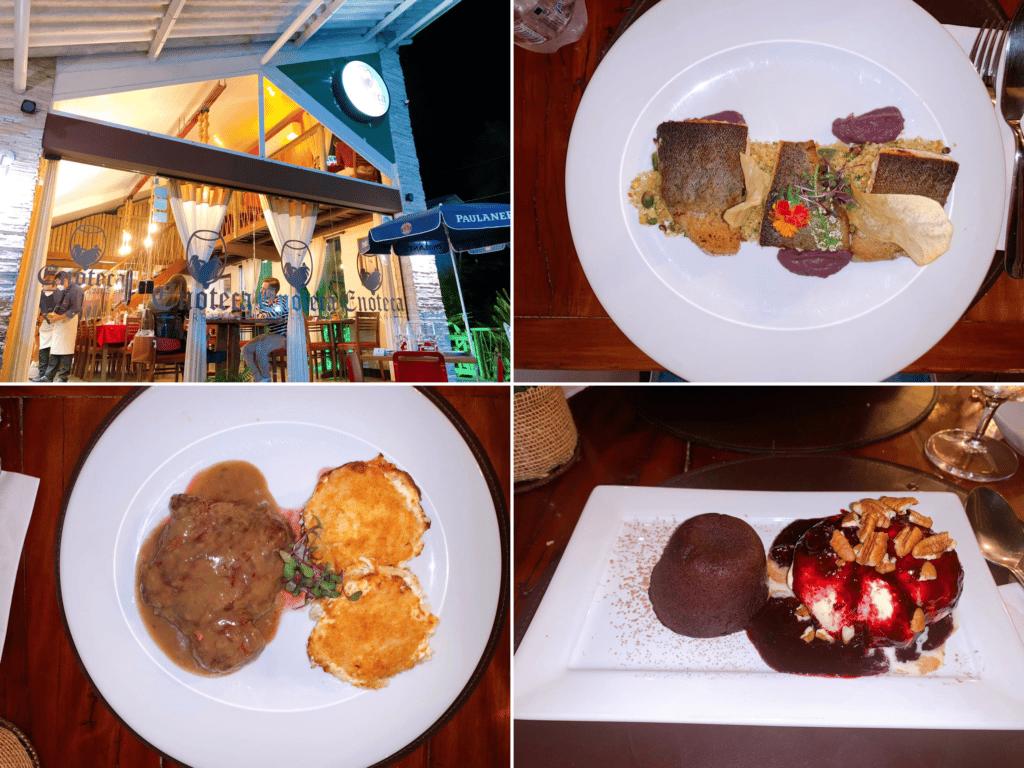 Restaurante Enoteca Serrana em Penedo