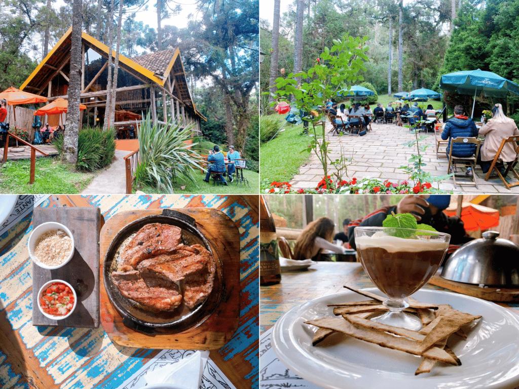 Gato Gordo Restaurante em Campos do Jordão com uma ótima área externa