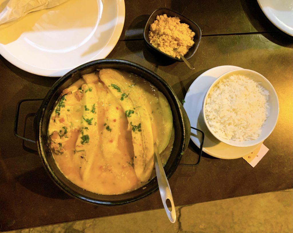 Alambique Antonio Mello prato principal Onde comer no centro histórico de Paraty