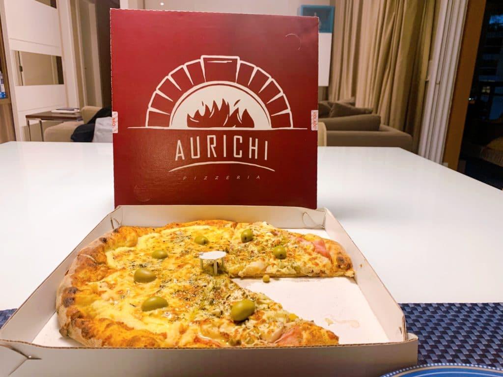 Aurichi Pizzaria dica de pizzaria na zona norte