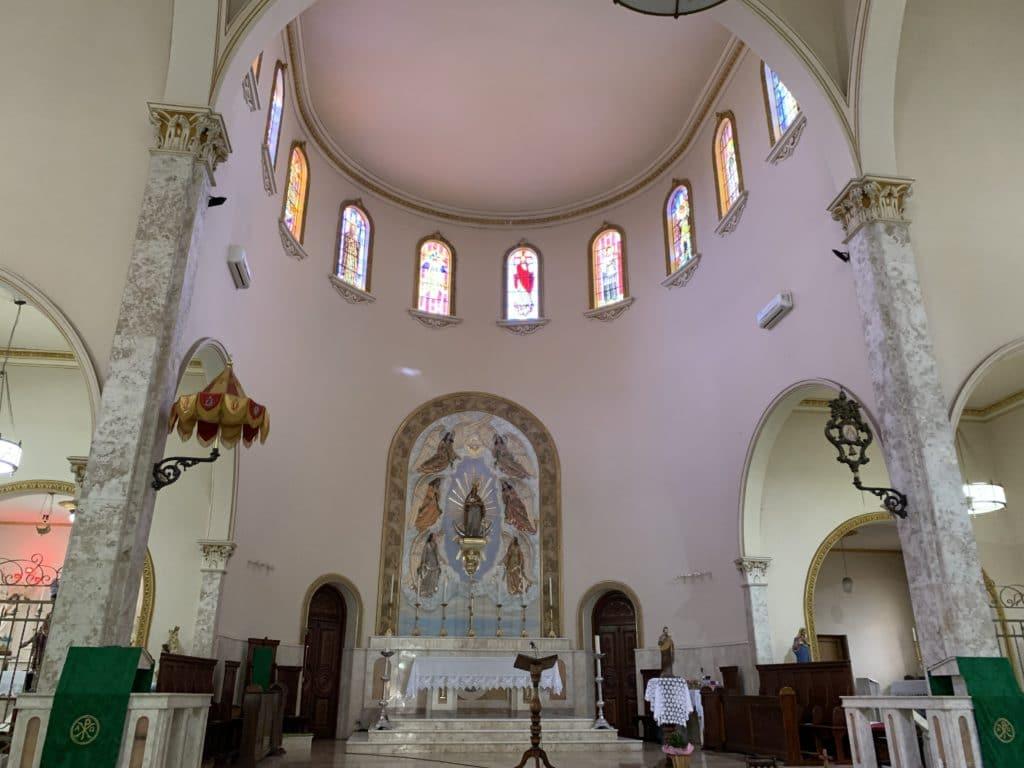 Altar da Basílica Menor de Nossa Senhora do Belém em Itatiba