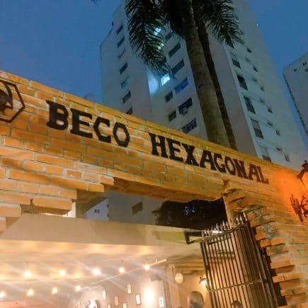 Beco Hexagonal entrada