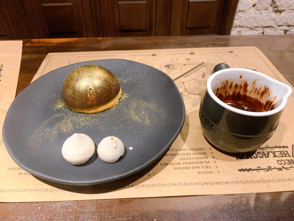 Pomo dourado sobremesa que mais gostamos