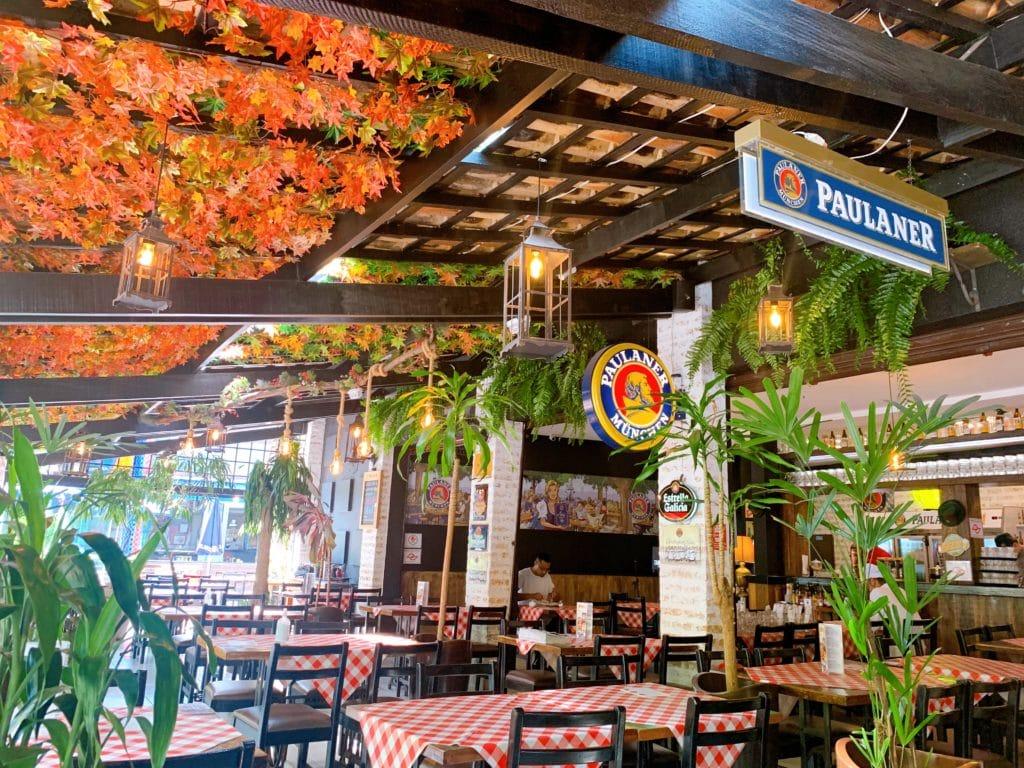 Biergarten Munique bar