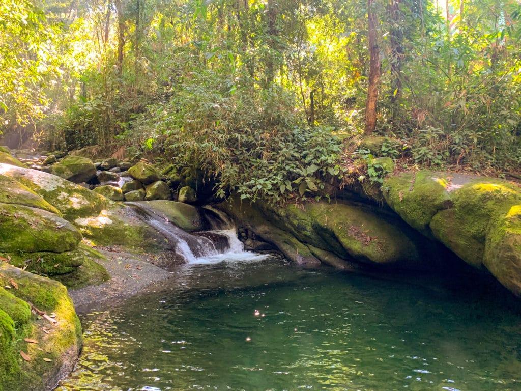 Poço das esmeraldas a cachoeira mais bonita na nossa opinião.