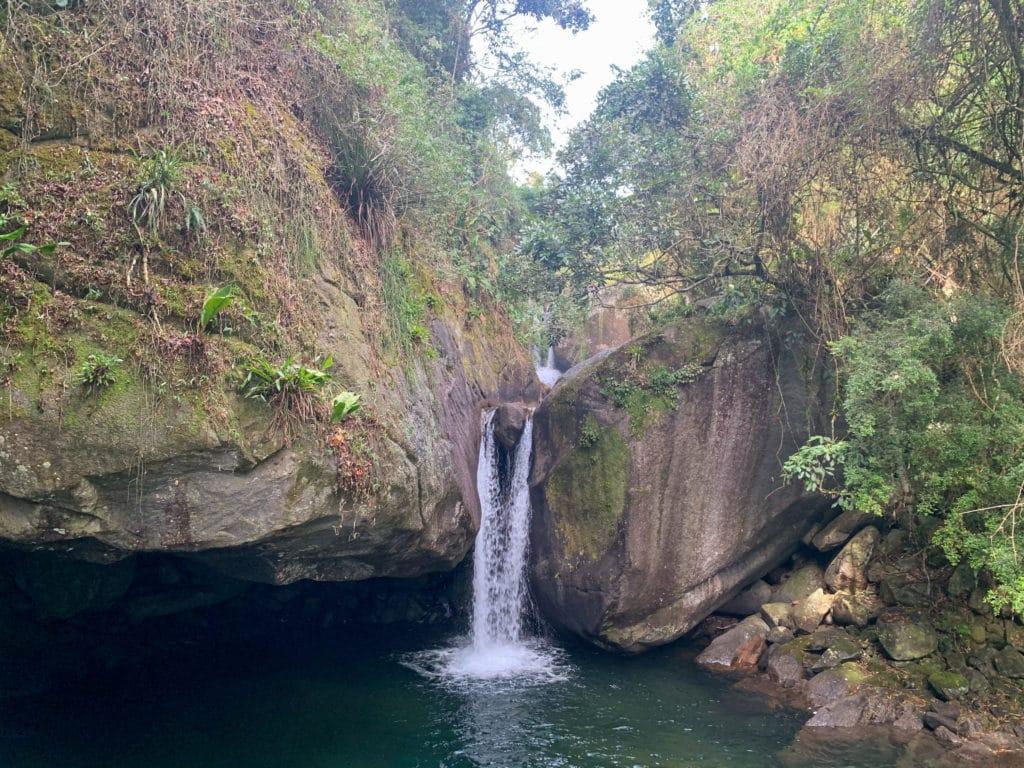 Cachoeira do andorinhao passa quatro mg