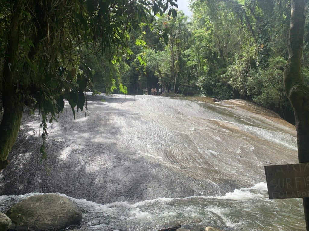 Cachoeira do Tobogã em Paraty