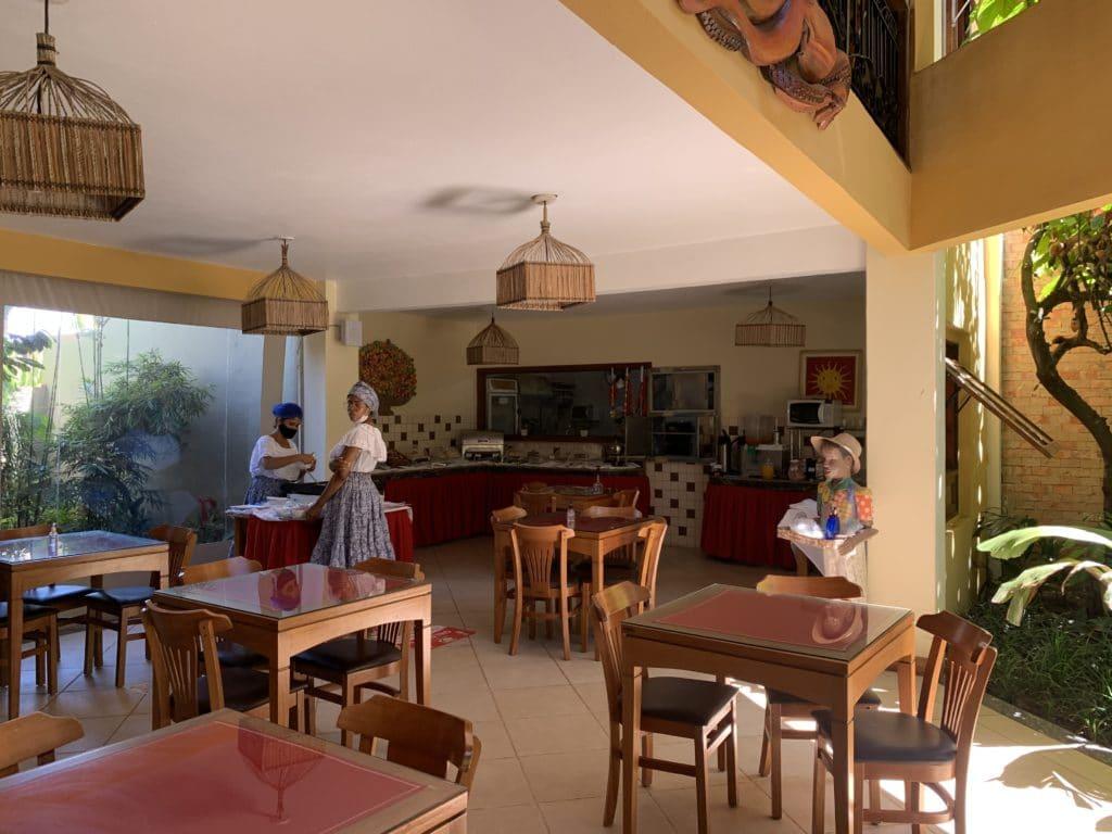 Café da Manhã da Pousada Pedra Torta - Itacaré