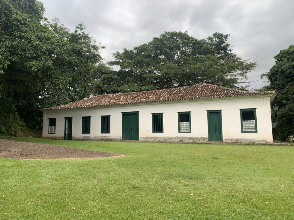 Casa Principal do Forte Defensor Perpétuo  em Paraty