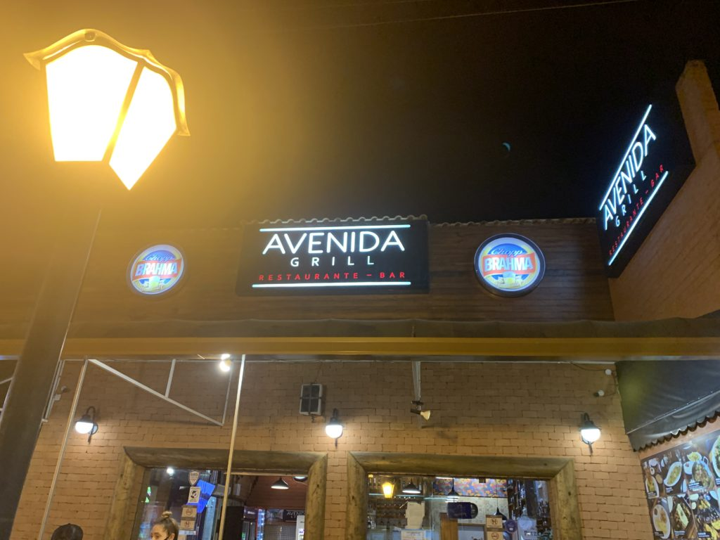 Entrada Avenida Grill Restaurante Bar