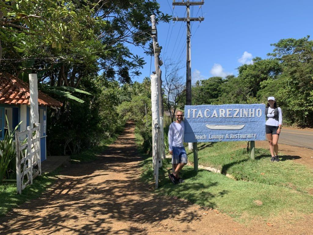 Entrada da Praia de Itacarezinho - Itacaré