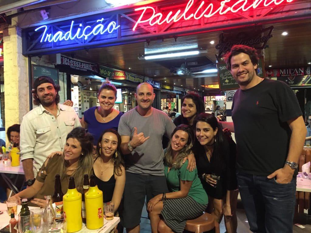 Entrada do Bar do Luiz Fernandes