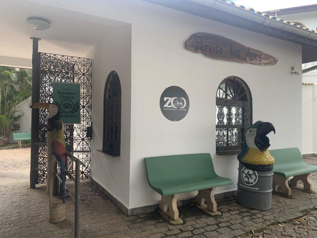 Entrada do Zoopark Itatiba