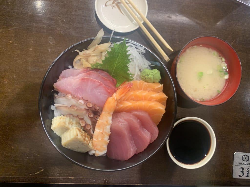 Espaço Kazu prato principal