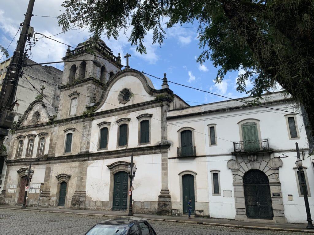 Igreja Convento do Carmo Santos