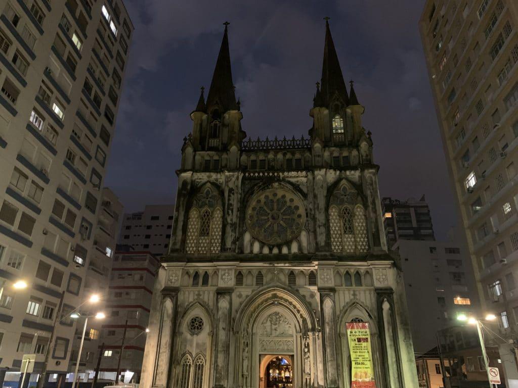 igreja do embare santos