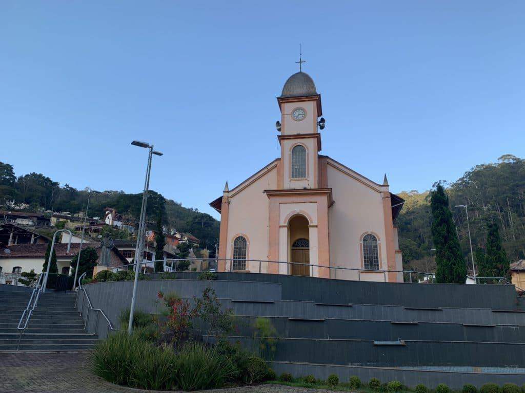 Igreja Matriz Santo Antonio de Pádua no centro da cidade