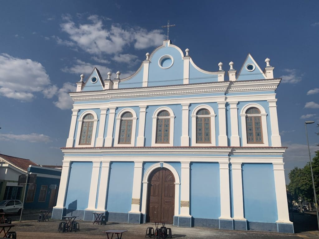 Igreja Nossa Senhora do Rosário amparo