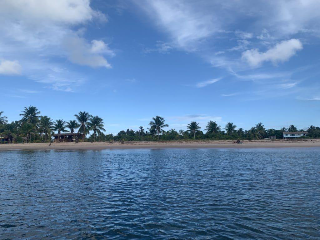 Ilha do Campinho, na Baía de Camumu