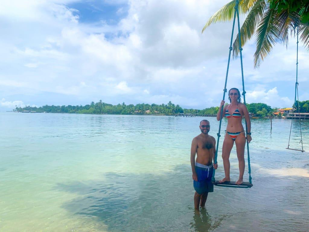 Ilha do Goió, na Baía de Camumu