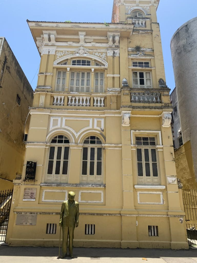 Casa onde viveu Jorge Amado em Ilhéus transformado em museu da cultura