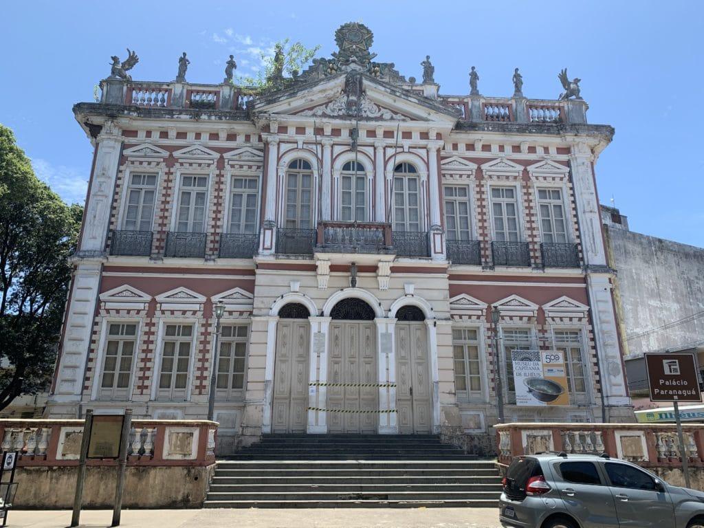 Palacio Paranaguá onde fica  atualprefeitura