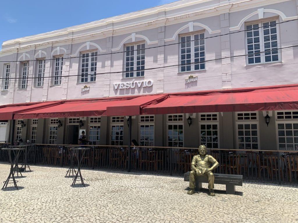 vesúvio restaurante famoso em Ilhéus