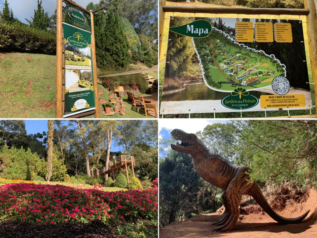 Jardim dos Pinhais Ecco Park ótimo parque temático