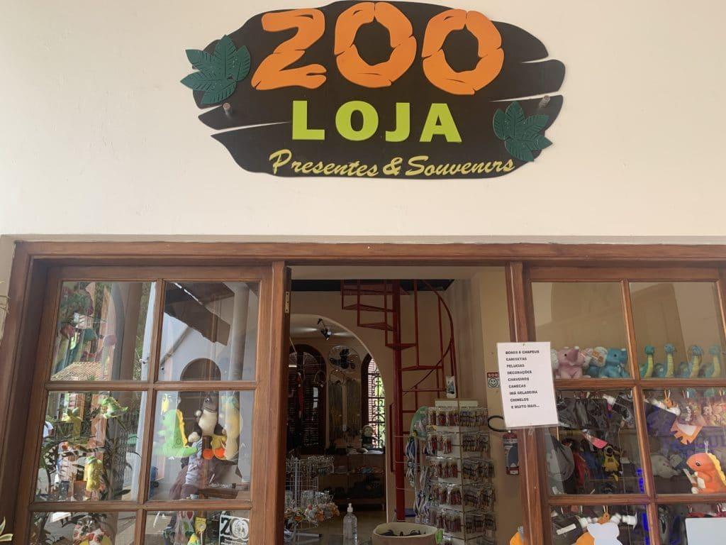 Loja de Souvenires no zoopark Itatiba