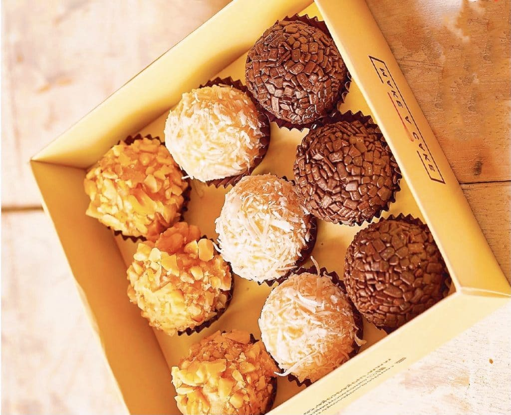 make a cake doces