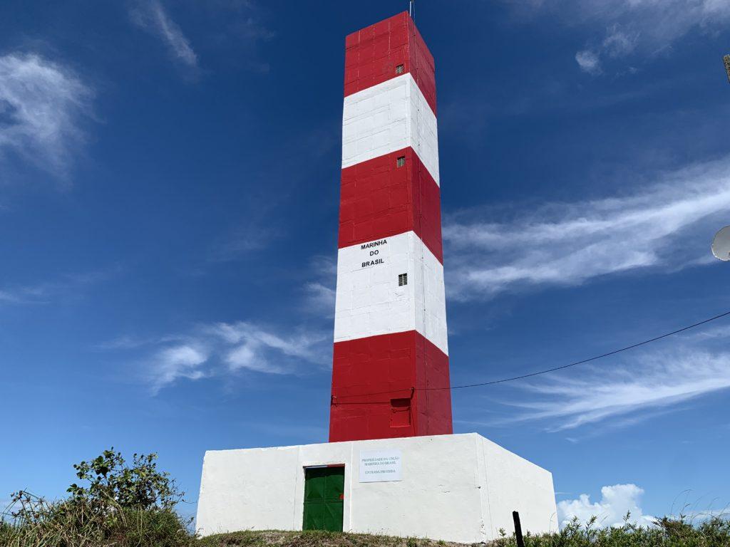Farol de Taipu, próximo a Barra Grande