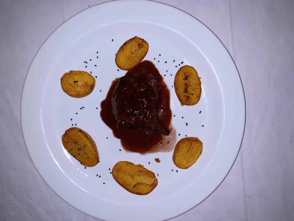 Prato principal na Ro gastronomia, em Barra Grande