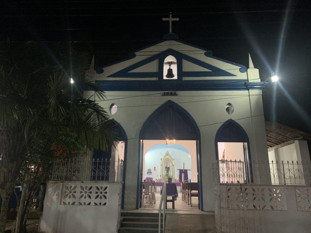 Igreja de Barra Grande, na Península de Maraú