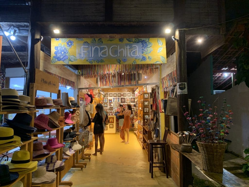 Finachita loja de lembranças