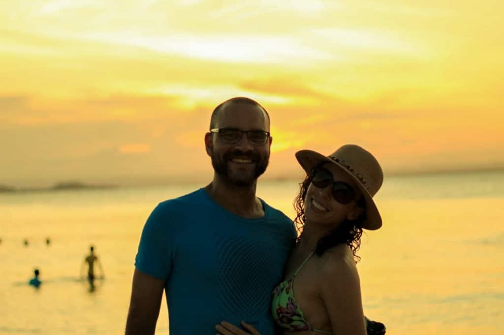 Por do sol na Ponta do Mutá Barra Grande
